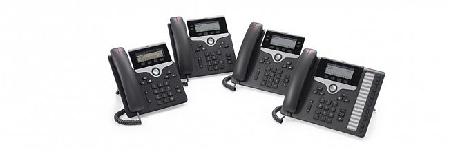 Телефоны Cisco IP Phone серии 7800