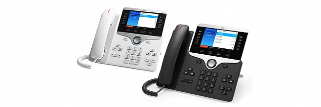 Телефоны Cisco IP Phone серии 8800